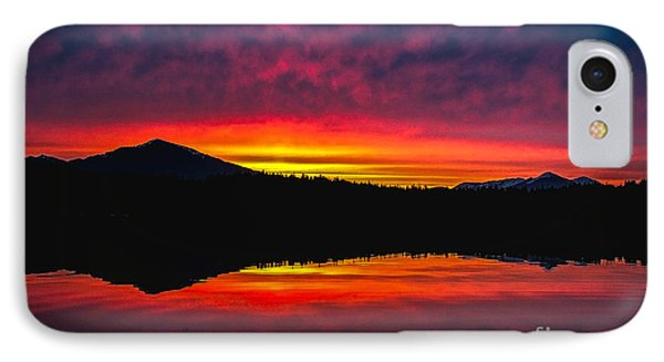 Inside Passage Sunrise IPhone Case by Robert Bales