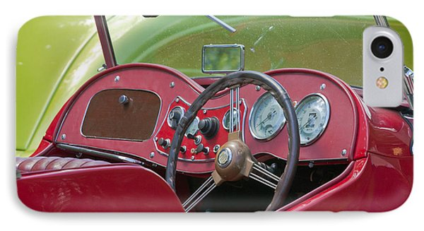 Red Mg-td Convertible  IPhone Case by Terri Waters