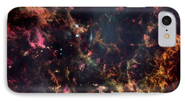Inside The Crab Nebula  IPhone Case by Jennifer Rondinelli Reilly - Fine Art Photography