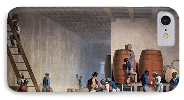 Inside The Distillery, From Ten Views Phone Case by William Clark