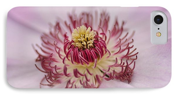 Inside The Flower IPhone Case by Mike Martin