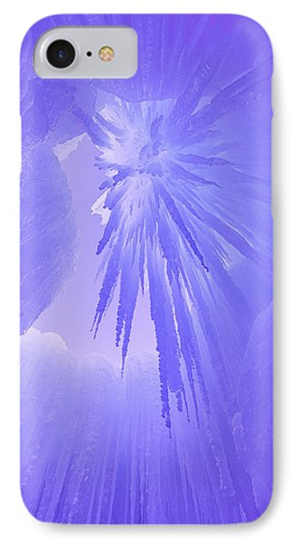 Inside The Ice IPhone Case by Darren  White