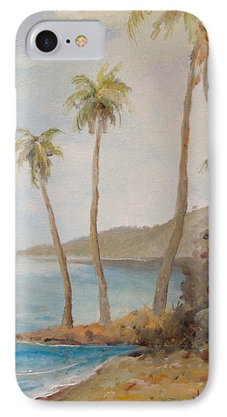 IPhone Case featuring the painting Inside The Reef by Alan Lakin
