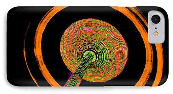 Inside The Vortex A IPhone Case by Michael Nowotny