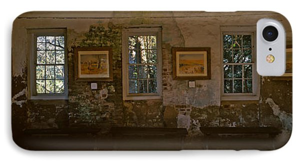 Inside View Of Slave Quarter, Middleton IPhone Case by Panoramic Images