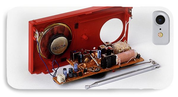 Insides Of A Portable Radio IPhone Case by Dorling Kindersley/uig