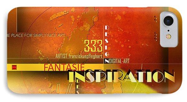Inspiration Phone Case by Franziskus Pfleghart