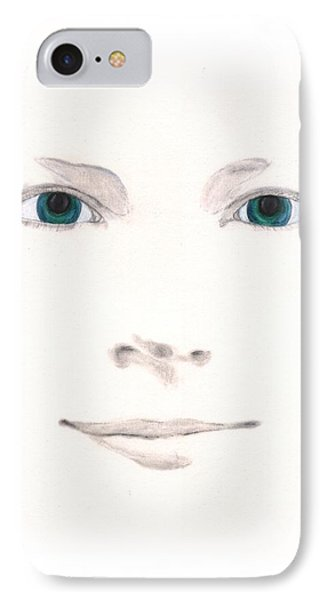 IPhone Case featuring the drawing Inspiration by Stephanie Grant