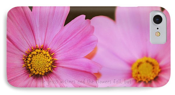 Inspirational Flower 2 IPhone Case by Eric Liller