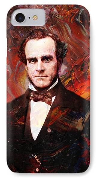 Intense Fellow 2 IPhone Case by James W Johnson