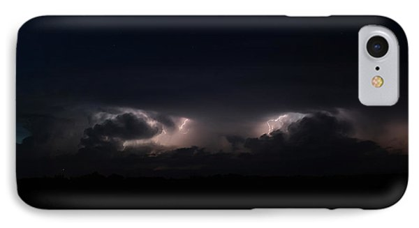 IPhone Case featuring the photograph Intense Lightning by Ryan Crouse