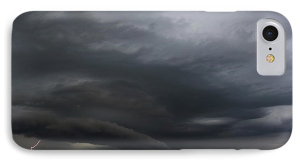 IPhone Case featuring the photograph Intense Storm Cell by Ryan Crouse