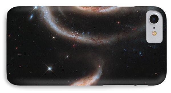 Interacting Galaxies Arp 273 IPhone Case