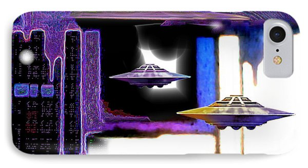 Interdimensional  Stargate IPhone Case by Hartmut Jager