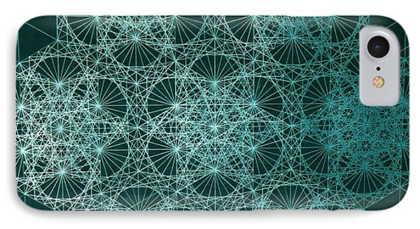 IPhone Case featuring the drawing Interference by Jason Padgett