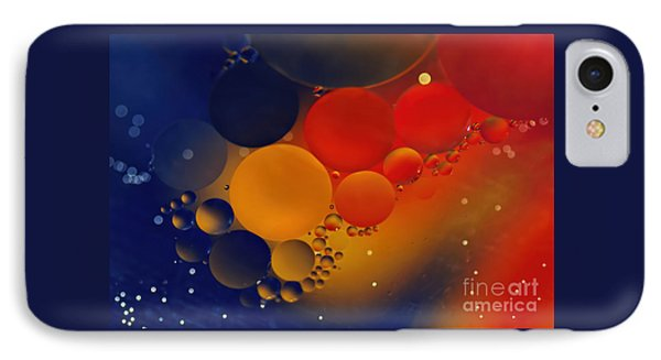 Intergalactic Space 3 IPhone Case by Kaye Menner