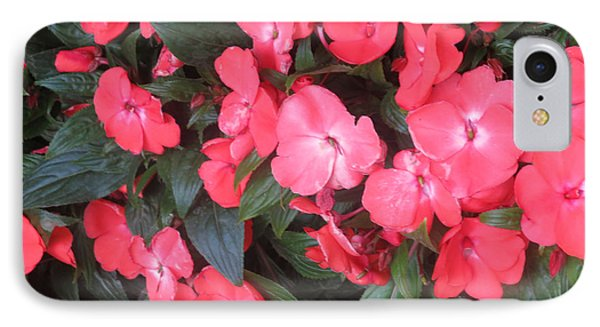 IPhone Case featuring the photograph Interior Decorations Butterfly Garden Flowers Romantic At Las Vegas by Navin Joshi