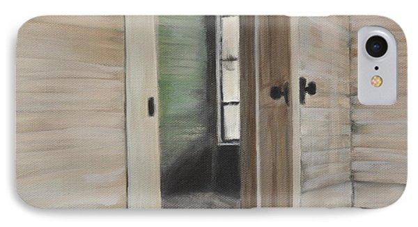 Interior Doorway IPhone Case by Lindsay Frost