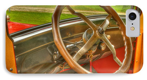Interior Of A 1926 Model T Ford Phone Case by Thomas Young