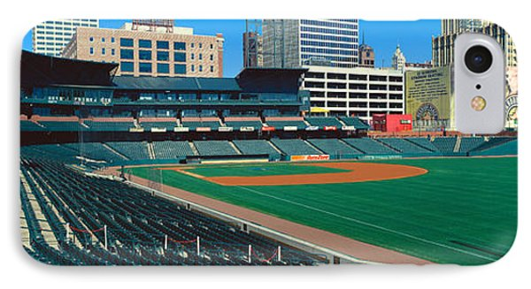 Interior Of Autozone Baseball Park IPhone Case by Panoramic Images
