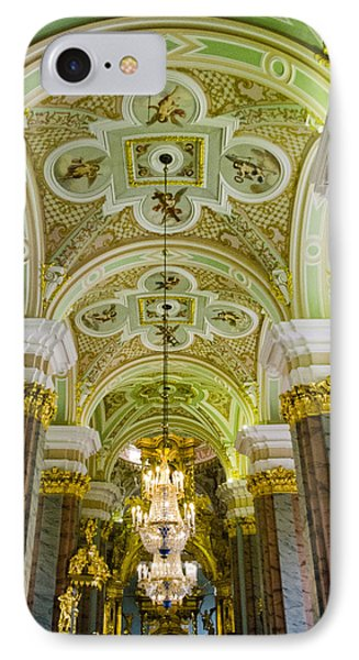 Interior Of Cathedral Of Saints Peter And Paul - St. Petersburg  Russia IPhone Case by Jon Berghoff