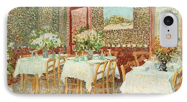 Interior Of Restaurant Phone Case by Vincent van Gogh