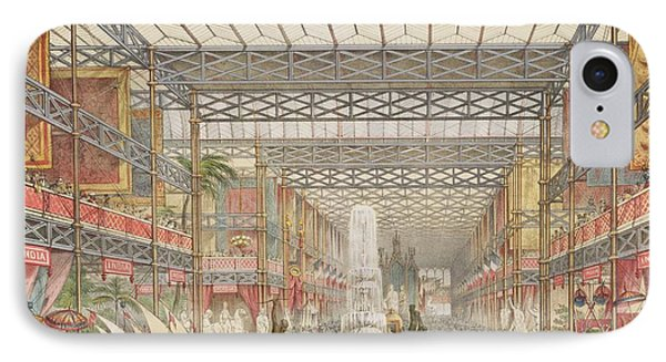 Interior Of The Crystal Palace, Pub Phone Case by Augustus Butler