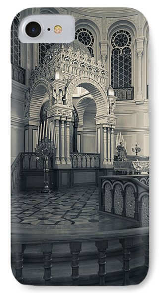 Interior Of The Grand Choral Synagogue IPhone Case by Panoramic Images