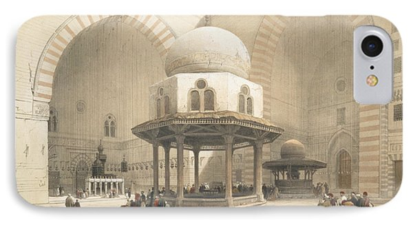 Interior Of The Mosque Of The Sultan El IPhone Case