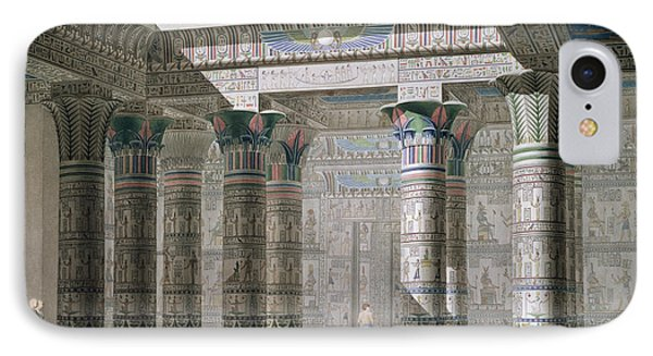 Grand Temple On The Island Of Philae IPhone Case