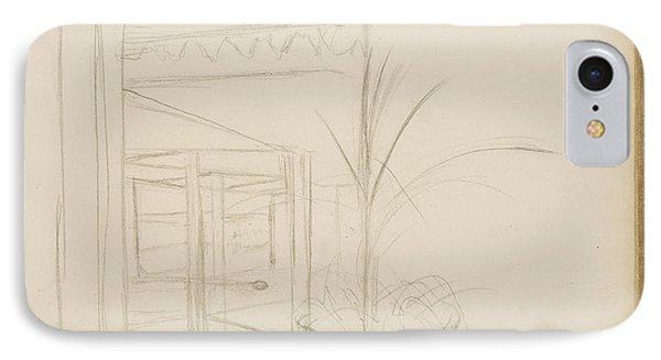 Interior Scene Edgar Degas, French IPhone Case