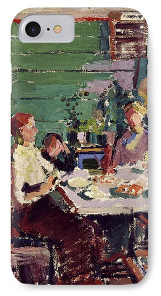 Interior Scene, Possibly In Norway Interior Scene IPhone Case by Litz Collection