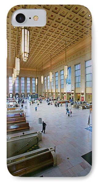 Interior View Of 30th Street Station IPhone Case