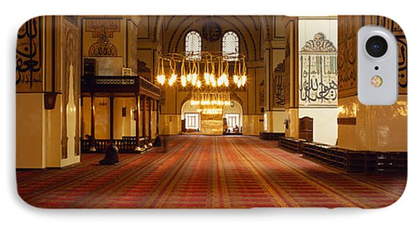 Interiors Of A Mosque, Ulu Camii IPhone Case by Panoramic Images