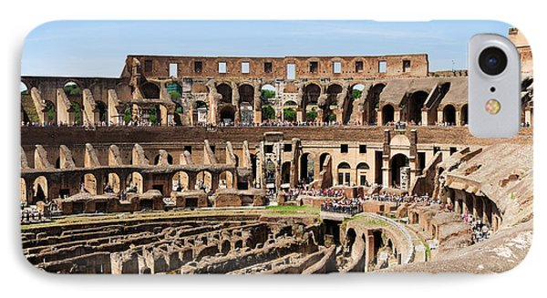 Interiors Of An Amphitheater, Coliseum IPhone Case