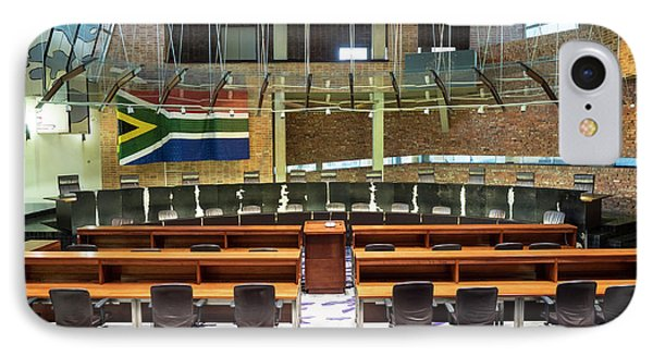 Interiors Of Constitutional Court IPhone Case