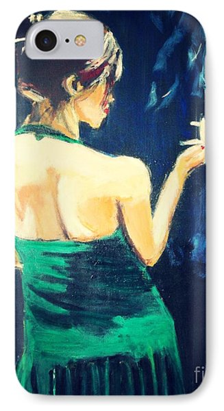 IPhone Case featuring the painting Intermission 2 by Judy Kay