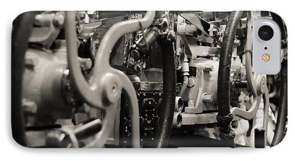 Internal Mechanics Uss Bowfin Phone Case by Douglas Barnard