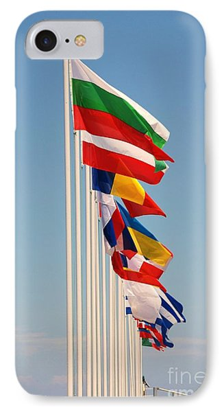 International Flags Nisyros IPhone Case by David Fowler
