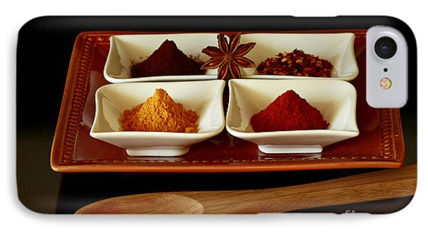 International Flair  Spice It Up Phone Case by Inspired Nature Photography Fine Art Photography