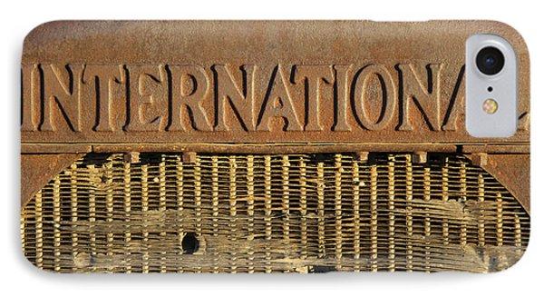 International Truck Emblem IPhone Case by Mike McGlothlen