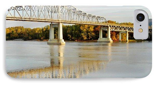 Interstate Bridge In Winona IPhone Case