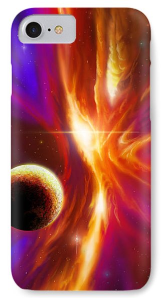 Intersteller Supernova IPhone Case