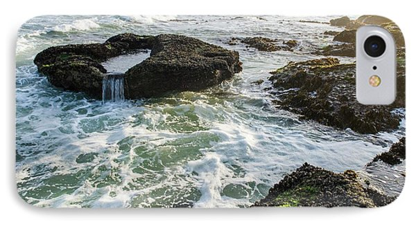 Intertidal Zone Impacted By Wave Action IPhone Case