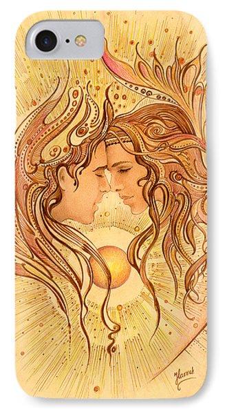 Intimacy IPhone Case by Anna Ewa Miarczynska