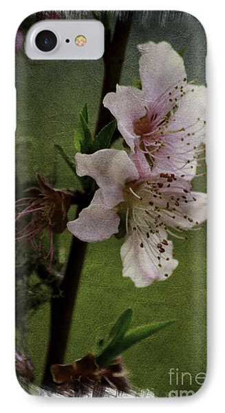 Into Spring Abstract IPhone Case by Lori Mellen-Pagliaro