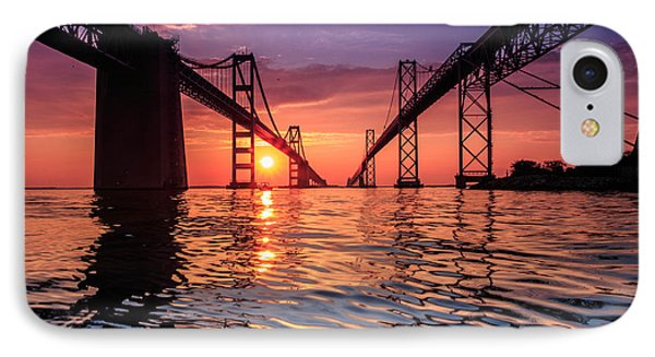 Into Sunrise 2 IPhone Case by Jennifer Casey