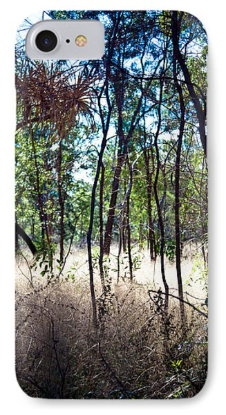 IPhone Case featuring the photograph Into The Bush by Carole Hinding