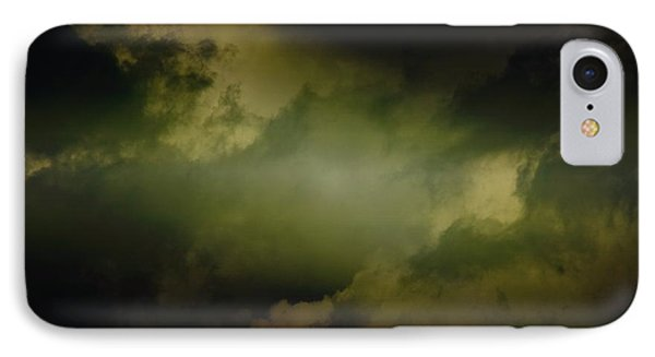 Into The Clouds IPhone Case by Paul Job