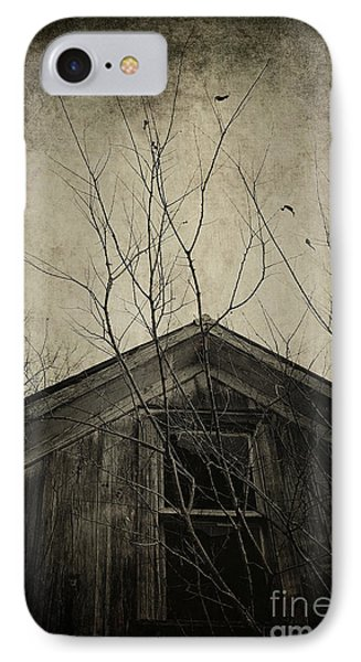 Into The Dark Past IPhone Case by Trish Mistric